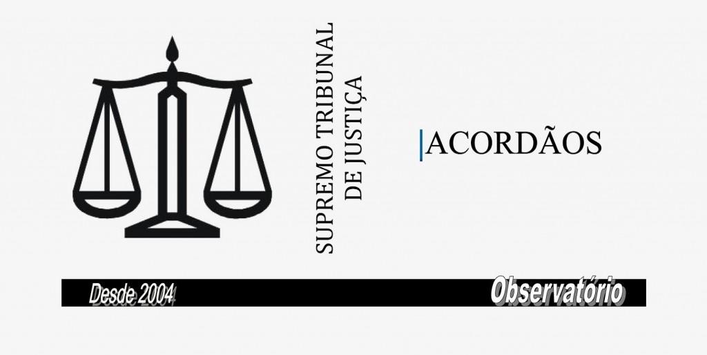SUPREMO-TRIBUNAL-DE-JUSTIÇA-ACORDAOS