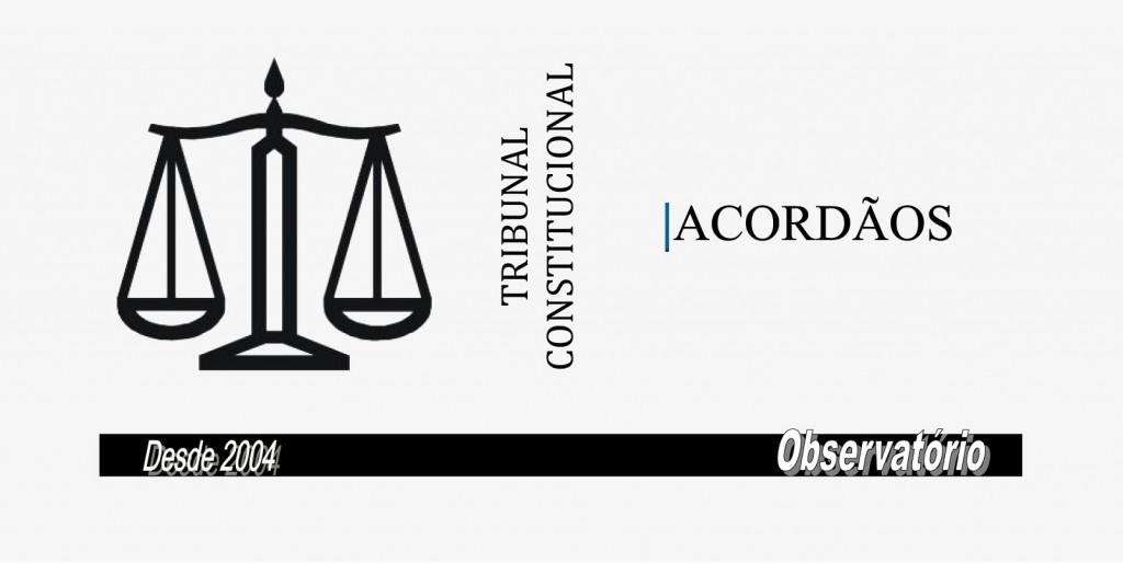 TRIBUNAL-CONSTITUCIONAL-ACORDAOS